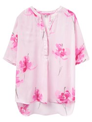 Joules Rosalyn Blouse Pink Orchid