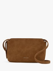 Matt And Nat Raven Vegan Cross Body Bag Cognac