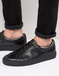 Frank Wright Eddie Lo Trainers In Black Black