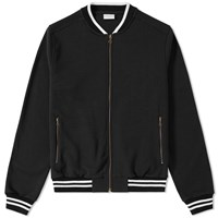 Dries Van Noten Homage Zip Bomber Black