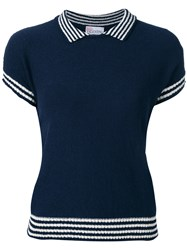 Red Valentino Shortsleeved Sweater Blue