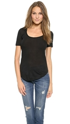 Atm Anthony Thomas Melillo Modal Sweetheart Tee Black