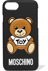Moschino Printed Silicone Iphone 7 Case Black