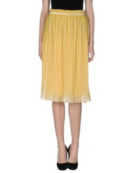 Coast Weber And Ahaus 3 4 Length Skirts Yellow