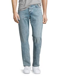 Rag And Bone Standard Issue Fit 2 Mid Rise Relaxed Slim Fit Jeans Blue