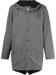 Rains 1202 Hooded Coat 60