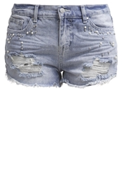 Evenandodd Denim Shorts Mid Blue Denim