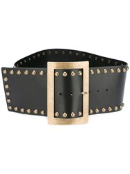 Philosophy Di Lorenzo Serafini Studded Large Belt Black