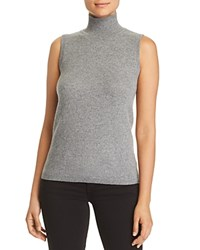 Bloomingdale's C By Sleeveless Cashmere Sweater 100 Exclusive Medium Gray