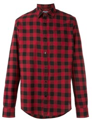 Woolrich Checked Casual Shirt Red
