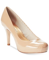 Madden Girl Madden Girl Getta Platform Pumps Women's Shoes Nude