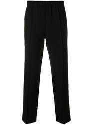 Alexander Wang Cropped Tailored Trousers Black