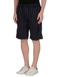 Our Legacy Trousers Bermuda Shorts Men Dark Blue