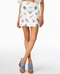 Endless Rose Printed Mini Skirt Penelia Print