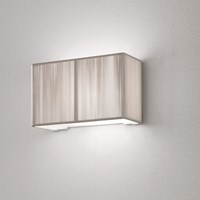 Axo Light Clavius Flush Wall Sconce Black Brown Ivory