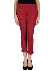 Gold Case Sogno Casual Pants Garnet