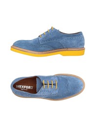 Wexford Lace Up Shoes Pastel Blue
