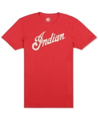 Lucky Brand Men's Indian Logo Alone Graphic Print T Shirt