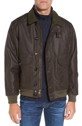 Filson Men's 'Ranger' Water Repellent Shelter Cloth Bomber Jacket