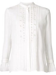Maiyet Ruffled Cuff Blouse White