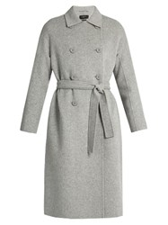 Max Mara Ululo Coat Light Grey