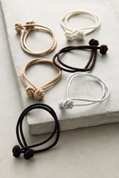 Anthropologie Knotted Hair Ties Gold