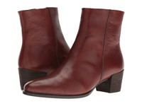Ecco Shape 35 Ankle Boot Cognac Women's Boots Tan