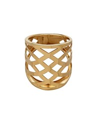 Lord And Taylor Gold Rush 14K Yellow Gold Woven Band