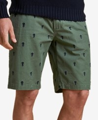 Barbour Men's Jellyfish Embroidered Shorts Green