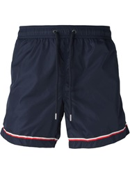 Moncler Classic Swimming Shorts Blue
