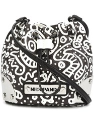 Nicopanda 'Mini Me' Bucket Crossbody Bag Black