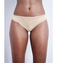 Chantelle Vous And Moi Jersey Thong Nude
