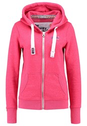 Superdry Tracksuit Top Chick Pink Snowy
