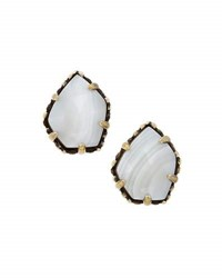 Kendra Scott Tessa Button Earrings