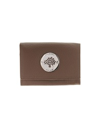 Mulberry Wallets Dove Grey