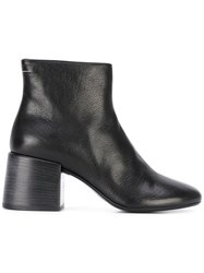 Maison Martin Margiela Mm6 Ankle Boots Women Calf Leather Leather 36 Black