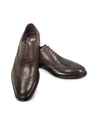 Fratelli Borgioli Cayenne Brogued Wingtip Oxford Brown
