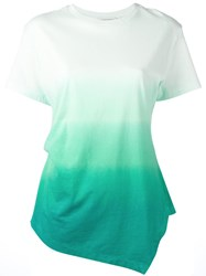 J.W.Anderson Degrade T Shirt Green