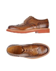 Berwick 1707 Lace Up Shoes Brown