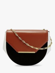 Ted Baker Floriie Leather Cross Body Bag Tan