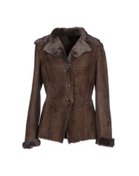 Massimo Rebecchi Coats And Jackets Jackets Women Dark Brown