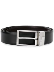 Hugo Boss Buckled Belt Black
