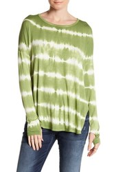 Sweet Romeo Long Sleeve Dolman Tee Green