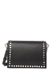 Steve Madden Posh Flat Studded Crossbody Bag Black