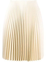 Theory Straight Fit Pleated Skirt 60