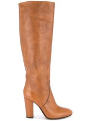 Buttero Knee High Boots Brown