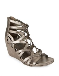 Kenneth Cole Reaction Cake Pop Wedge Sandals Grey