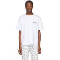Misbhv White The Mbh And Spa T Shirt