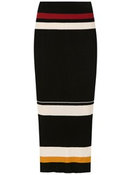 Osklen Knit Midi Skirt Multicolour