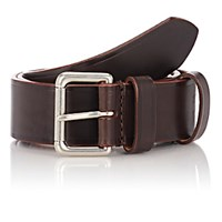 Felisi Men's Numbered Leather Belt Brown